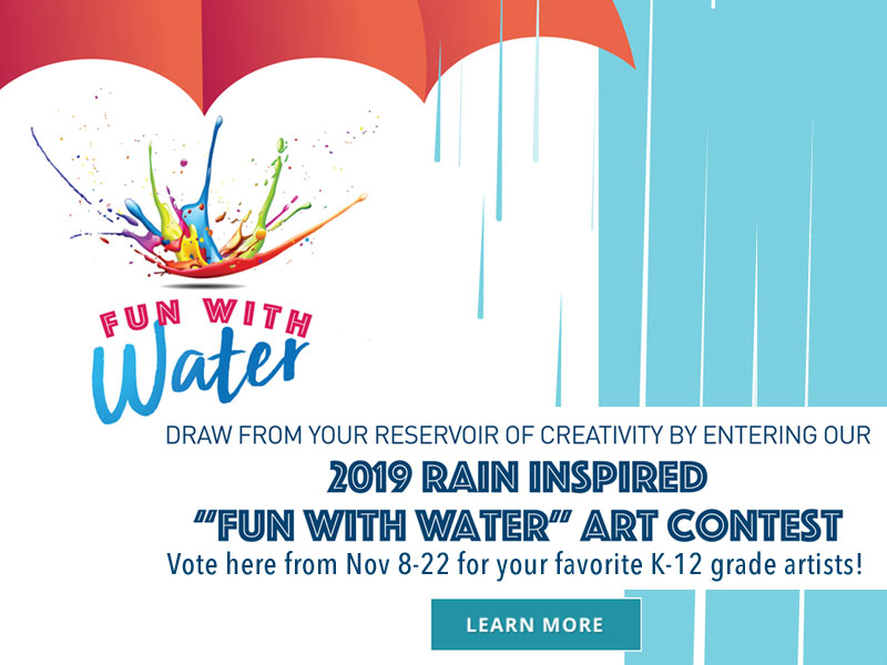 Mobile Version of fun water promotional graphic
