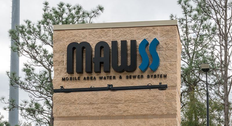 MAWSS outdoor signage