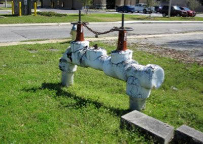 photo of backflow prevention device