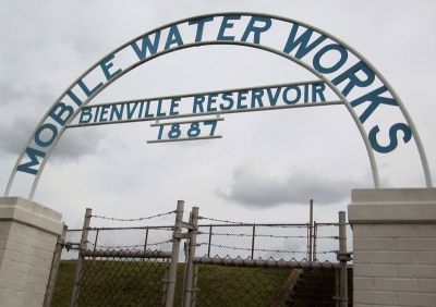 signage for water reservoir