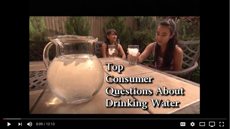 Top Consumer Questions About Drinking Water Video Thumbnail Image
