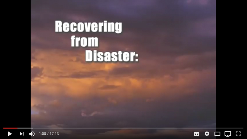 Recovering from Disaster 1 Video Thumbnail Image