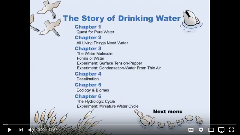 The Story of Drinking Water Video Thumbnail Image